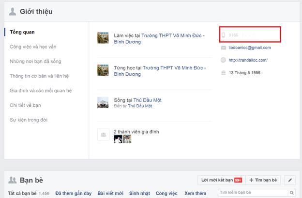 Tài khoản Facebook