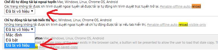 Vô hiệu hóa tính năng reload tab của Chrome