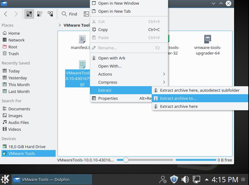 Cài đặt VMware Tools cho máy ảo Linux - 3
