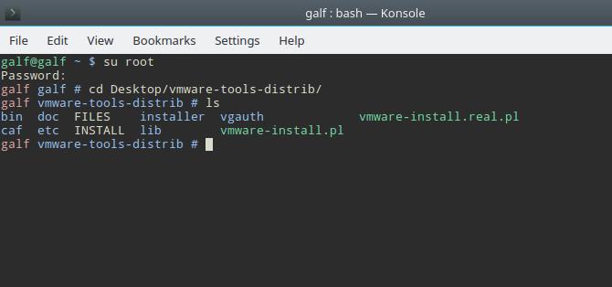 Cài đặt VMware Tools cho máy ảo Linux - 6