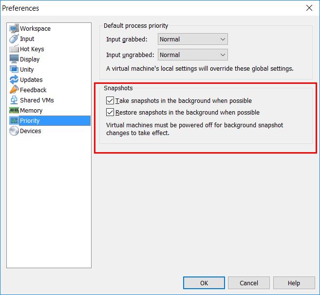 Cách sử dụng Snapshot VMware4