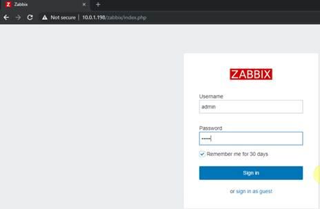 Zabbix monitoring network 2: Triển khai Zabbix Monitoring Server
